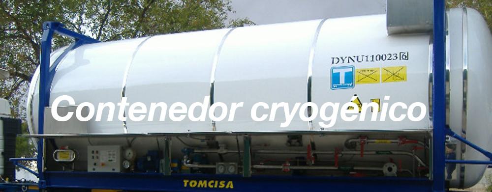 Contenedor Cryogénico